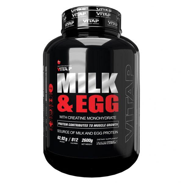 گینر شیر و تخم مرغ ویتاپی